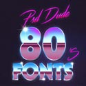 80s Font Collection