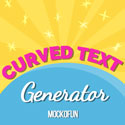 Curved Text Generator