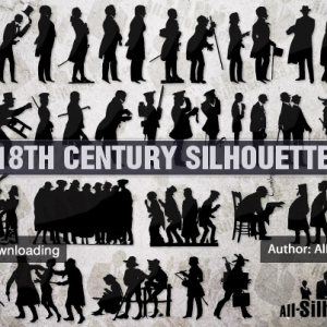 18th century silhouettes