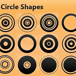 23 Photoshop Circle Shapes Designer Essentials