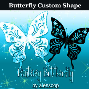 Butterfly Shape CSH
