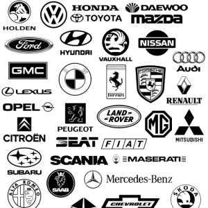 Car Logo Vector Shape on mercedes benz custom cars