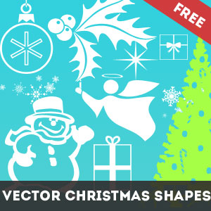 Christmas Vector Shapes CSH