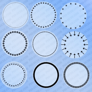 Circle Photoshop Shapes