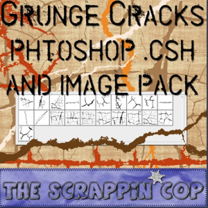 Cracks Photoshop Shapes CSH