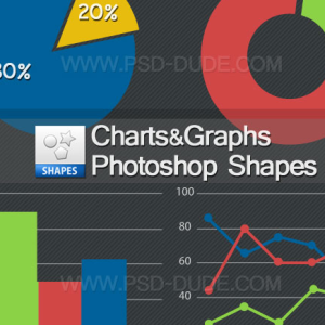 Custom Shapes for Charts and Graphs