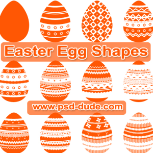 Egg Shapes for Easter