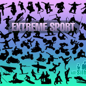 Extreme Sport Vector Shapes for Photoshop