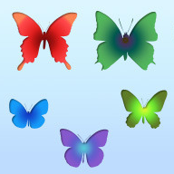 Free Butterfly Shapes