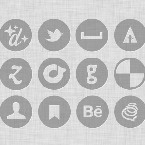 Free Mini Vector and Custom Shape Icon Set