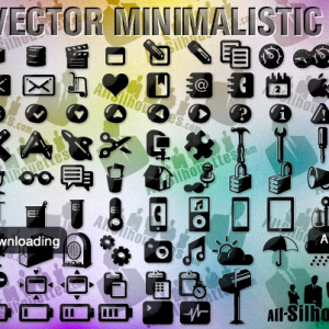 Free Vector Minimalistic Icons
