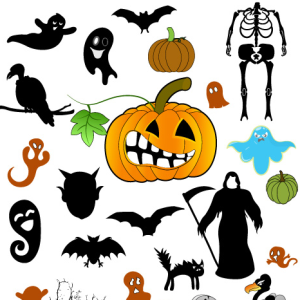 Halloween Brushes and Custom Shapes for Photoshop