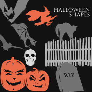 Halloween Horror Photoshop Shapes