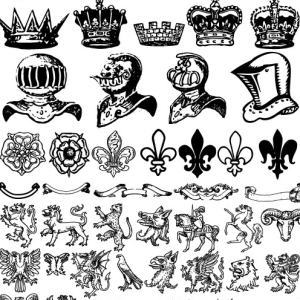 Heraldic Shapes and Symbols