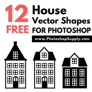 House Shape Vectors