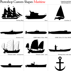 Maritime Custom Shape