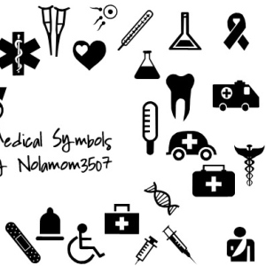 Medical Icon Shapes Photoshop