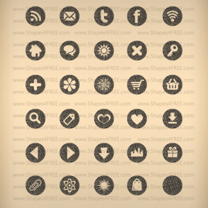 35 Pretty Texture Icons