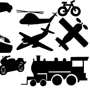 Photoshop Transport and Vehicle Shapes CSH
