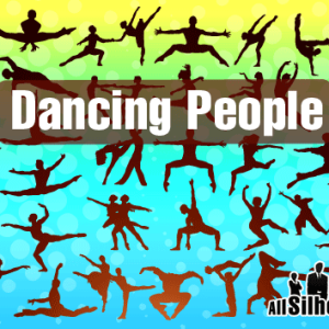 Photoshop Vector Dance Shapes and Silhouettes