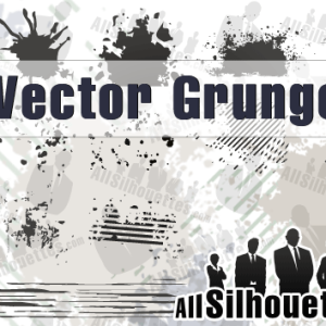 Photoshop Vector Grunge Shapes