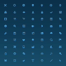 Small Icon Shapes