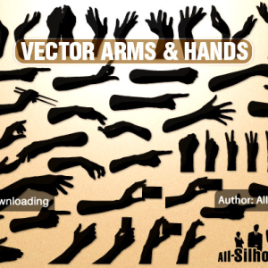 Vector hands 038 arms
