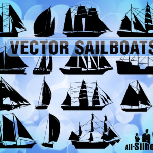 Free Vector Sailboats