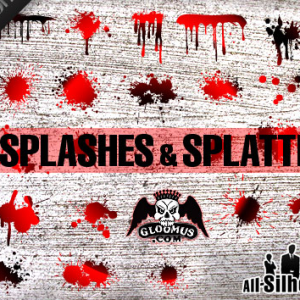 Grunge Splashes 038 Splatters