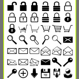 Web Icon Shapes