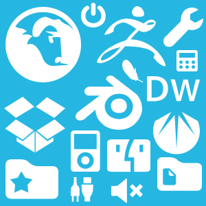 100 Web Icon Shapes
